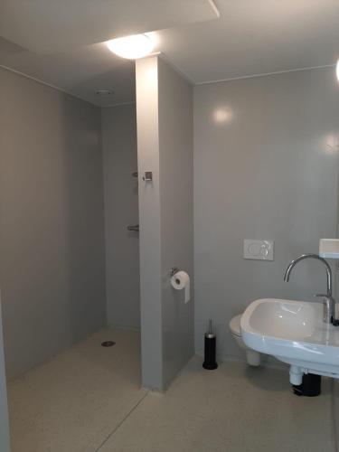 A bathroom at De Lente van Drenthe