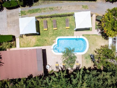 Een luchtfoto van Hotel Rural Las Calas