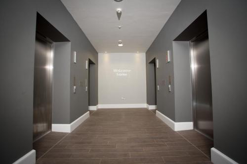 The lobby or reception area at Staybridge Suites Birmingham, an IHG Hotel