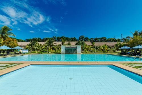 The swimming pool at or near Bohol Beach Club