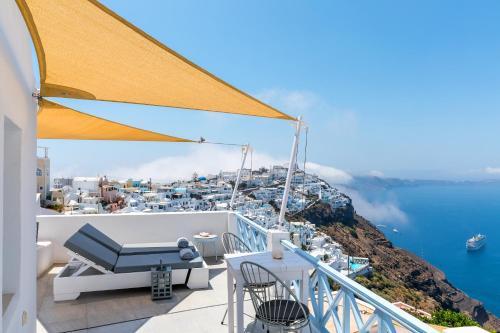 Balcone o terrazza di Blue Dolphins Apartments