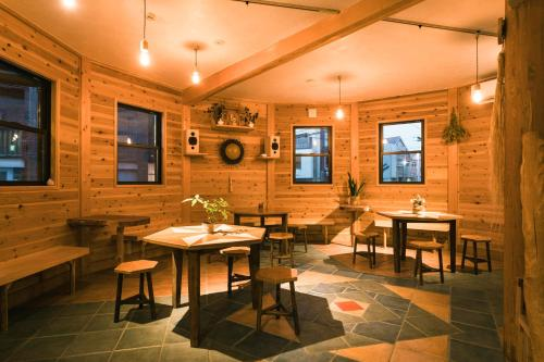 A restaurant or other place to eat at Ise Guest House Kazami