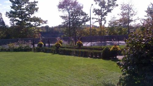 A garden outside Park Place B&B