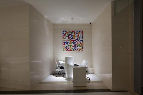 Un baño de Rosedale Hotel Kowloon
