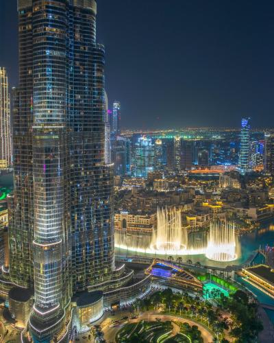 FIRST CLASS 3BR with full BURJ KHALIFA and FOUNTAIN VIEW - 3
