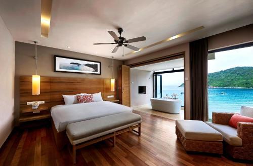 A room at The Taaras Beach & Spa Resort