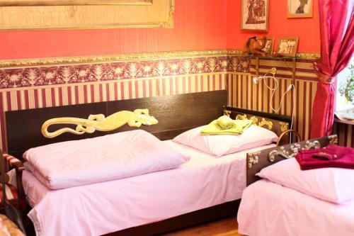 เตียงในห้องที่ Klinskiy Dvor