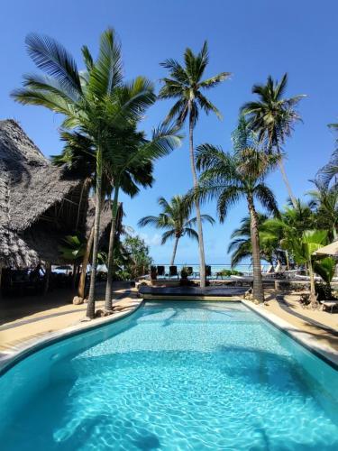 The swimming pool at or near Sunshine Hotel Zanzibar