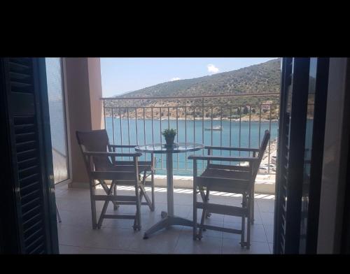 Μπαλκόνι ή βεράντα στο Poseidon Apartments