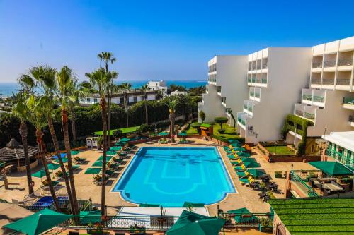 A view of the pool at Hotel Argana Agadir or nearby