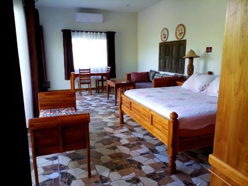 A bed or beds in a room at coffee&homestay568 Branch 2