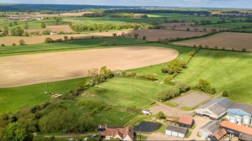 A bird's-eye view of The Farm Stay