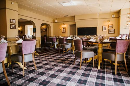 A restaurant or other place to eat at The Stratton House Hotel