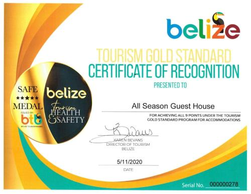 All Seasons Guest House and Cabanas