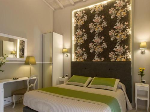 Letto o letti in una camera di Bed and Breakfast Locanda di Mosconi