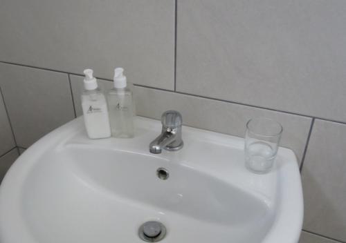 A bathroom at Adagio Luxury Self Catering