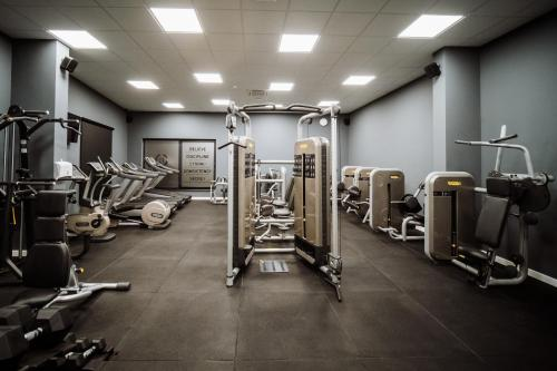 Fitnes centar i/ili fitnes sadržaji u objektu Hotel Barcode Wellness & Spa