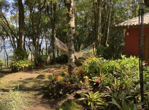 Um jardim em Refúgio da natureza