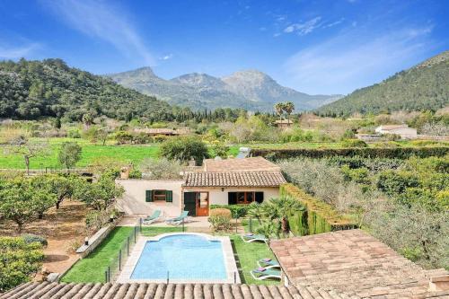 Villa Pont Romà - El Camp Redo - de Pollença con piscina, WIFI, AC