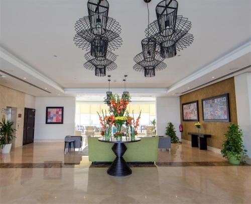The lobby or reception area at Simaisma A Murwab Resort