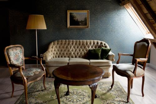 A seating area at Boutique hotel Sint Jacob