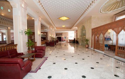 The lobby or reception area at Mahdia Palace