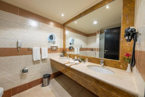 Um banheiro em Al Ghufran Safwah Hotel Makkah