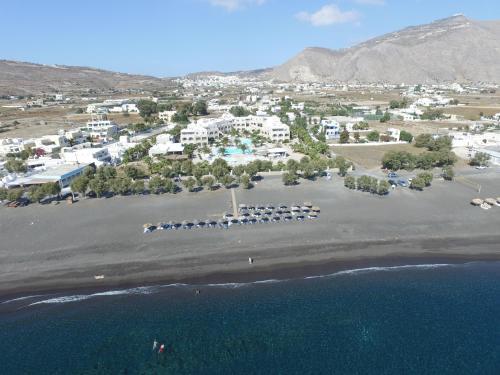 Άποψη από ψηλά του Santo Miramare Beach Resort