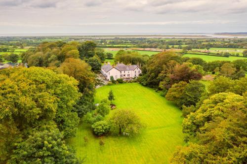 A bird's-eye view of Plas Dinas Country House