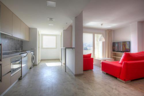 Zona de estar de Sono Master Apartments