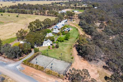 A bird's-eye view of Elinike Guest Cottages