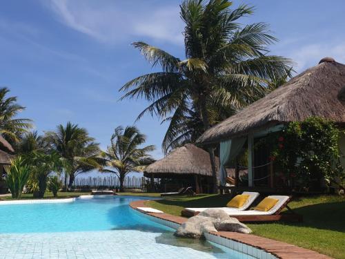 The swimming pool at or near Pousada Residencia Duna Paraiso