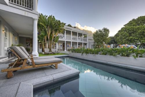 The swimming pool at or near Three Boutique Hotel