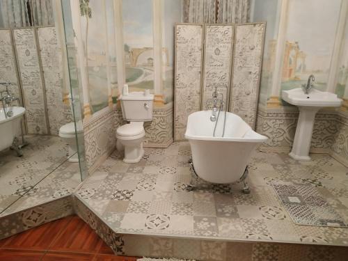 A bathroom at Dům zámeckých kaplanů