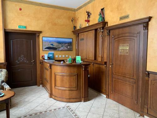 Лоби или рецепция в Хотел Св. Георги