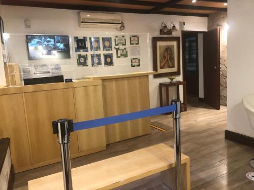 O saguão ou recepção de Sissi Haz Hotel