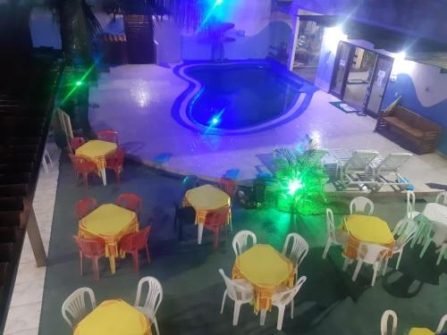 Comodidades para banquetes na pousada