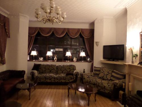 A seating area at The Grays