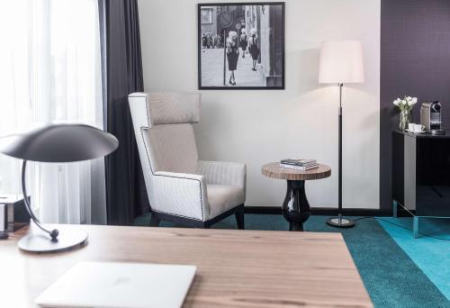 A seating area at Radisson Blu Hotel Malmö