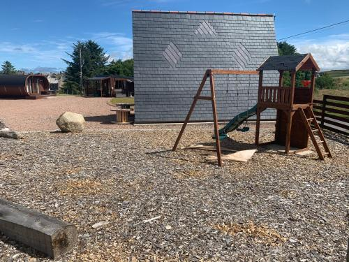Children's play area at AC/DC Glamping