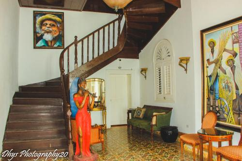 The lobby or reception area at Manoir Adriana Hotel