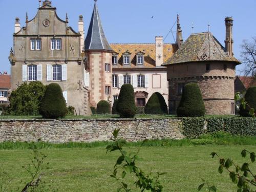 Le Chateau D'Osthoffen Osthoffen, France