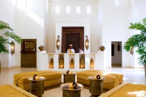 The lobby or reception area at Baraza Resort and Spa Zanzibar