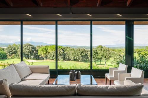 Zona de estar de Torremirona Relais Hotel Golf & Spa