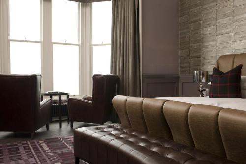 A seating area at Hotel Du Vin, St Andrews