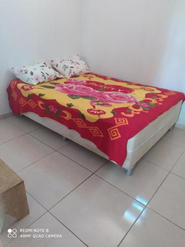 A bed or beds in a room at Casa Japa Bech (Bitingui)