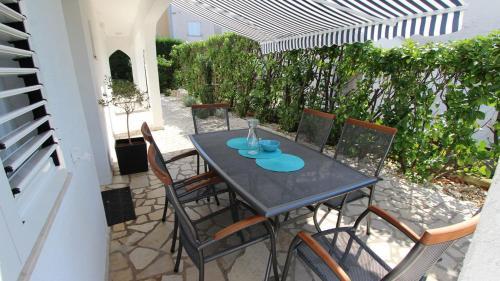 Balkón alebo terasa v ubytovaní Apartments Adrijana