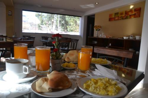 Breakfast options available to guests at Vita Hoteles Colca