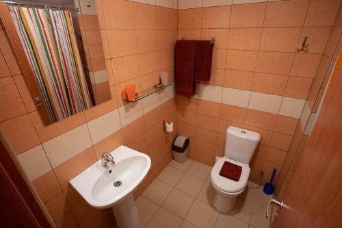 Ванная комната в Гостиница Заречная