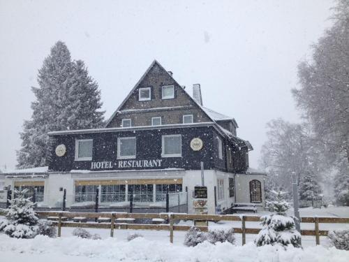 Hotel Herrloh during the winter